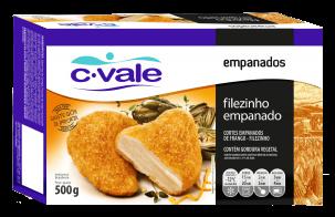 Filezinho Empanado 500g