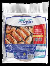 Linguiça de Carne de Frango Tradicional 1kg